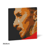 Zlatan Ibrahimovic Brick Paintings - LAminifigs