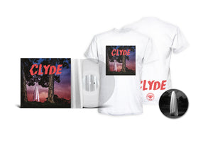 "PACK VINYLE CRYSTAL ALBUM ""CLYDE"" COVER FRONT"