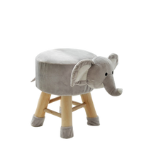 Load image into Gallery viewer, Kids Zoo Kingdom Animal Chair Stools - zoo Kingdom