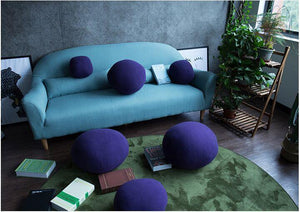 Throw Cushion Covers Bedrocks Rock Garden Teal Sofa Cushions-BEDROCKS