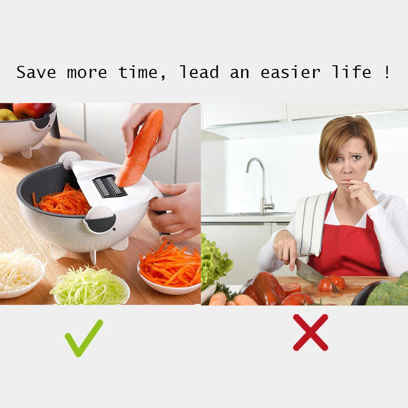 Multifunction Mandoline Vegetable Slicer - SlicingMagic