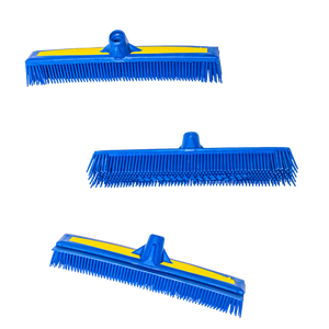 "The Smart Broom® 12"" Multi-Purpose Squeegee - Broom Head Only (3 Pack)"
