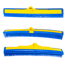 "Load image into Gallery viewer, The Smart Broom® 16"" Multi-Purpose Squeegee - Broom Head Only (3 Pack)"