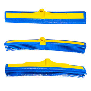 "The Smart Broom® 16"" Multi-Purpose Squeegee - Broom Head Only (3 Pack)"
