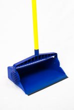 "Load image into Gallery viewer, 5200 Series Lobby Dust Pan Blue w/33"" Handle"