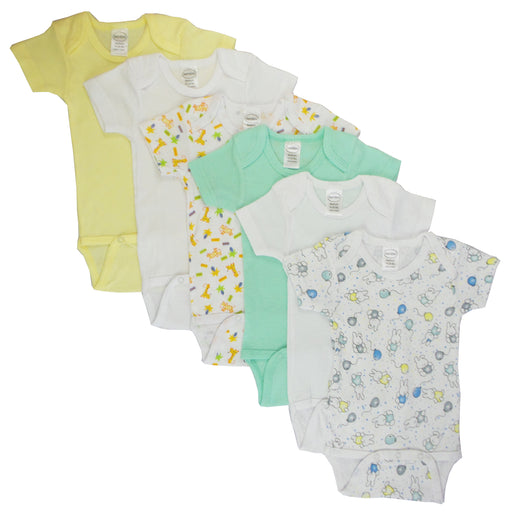 Boys' Printed Short Sleeve 6 Pack