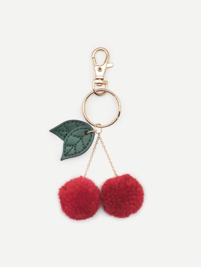 Cherry Shaped Keychain