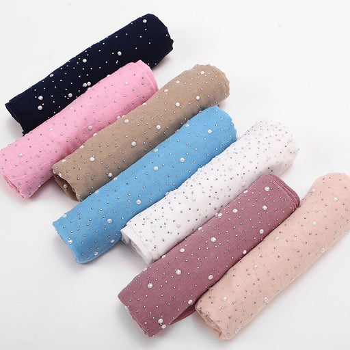 Fashion Beautiful Candy Color Scarf Cotton Breath