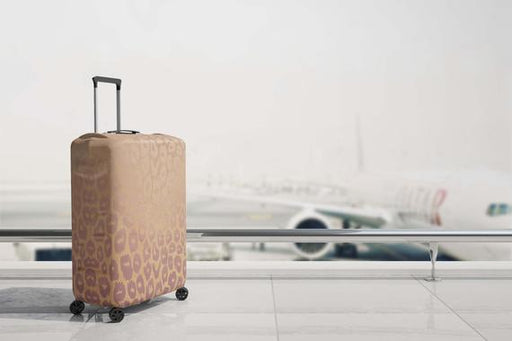 Leopard Bag Luggage Protector Luggage Suitcase