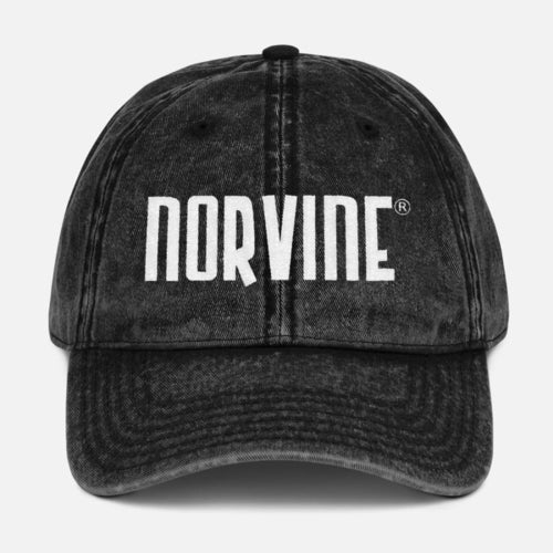 Norvine Vintage Cotton Twill Cap