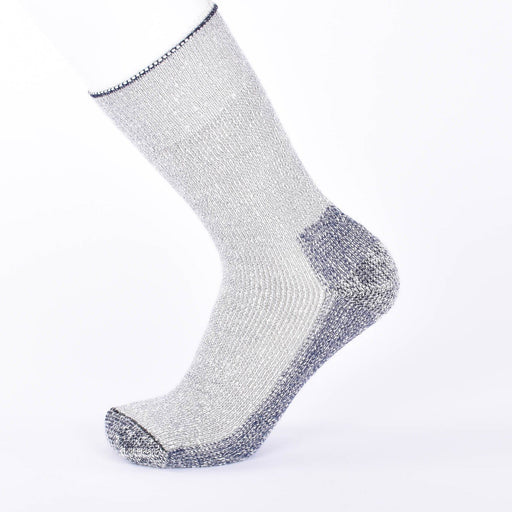 Kid Mohair Thermal Socks Mottled Blue - Unisex