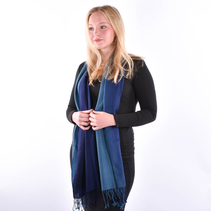 Stylish 100% Fine Woven Wool Scarf Selection