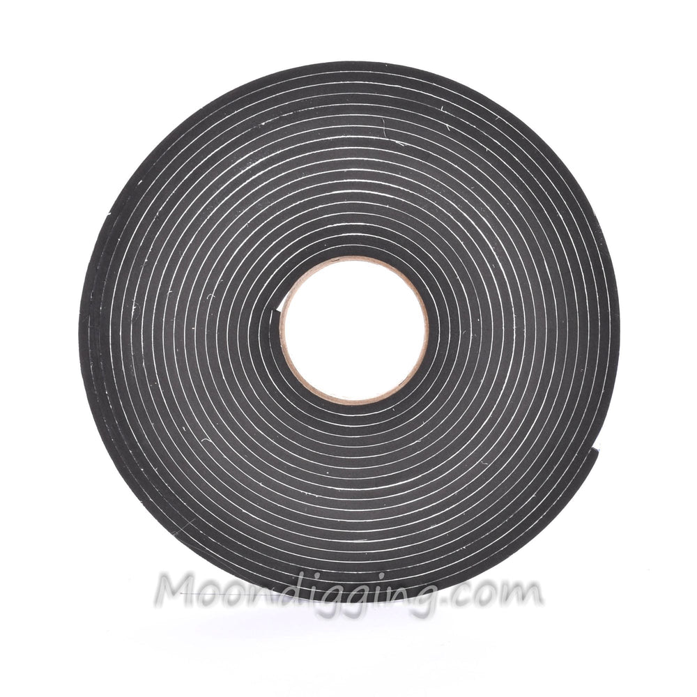 Sponge Neoprene Stripping W/Adhesive 5/8in Wide X 1/4in Thick X 37.5ft Long