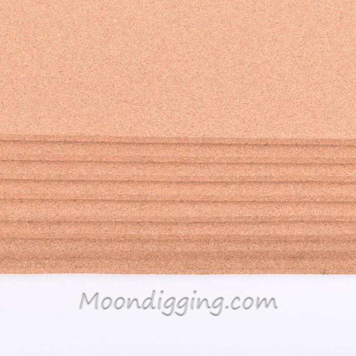 "8 Pack - Fine Grain Plain Cork Sheets 24"" X 36"""
