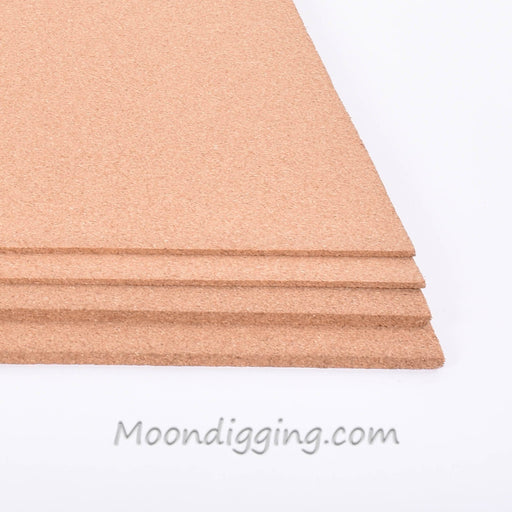 "Fine Grain Plain Cork Sheets 24"" X 36"" - Combo Pack"
