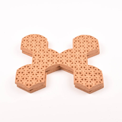 Expandable Cork Hot Pot Trivet