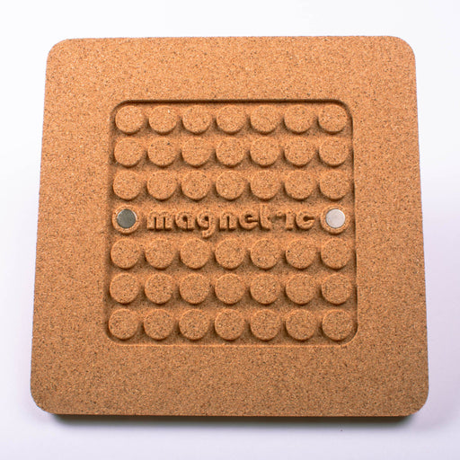 Cork Magnetic Square Trivet