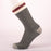 Kodiak Men's Grey and Charcoal Burgundy Comfort Socks - 2 Pairs