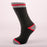 Kodiak Boys Black, Grey and Red Thermal Socks (Large) - 2 Pairs