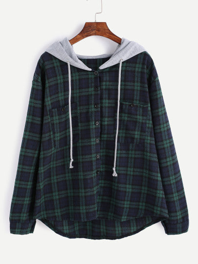 MDG Essential - Hooded Flannel