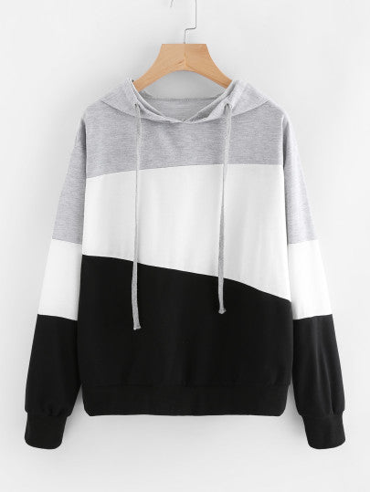 MDG Essential - Abstract Hooded Sweatshirt