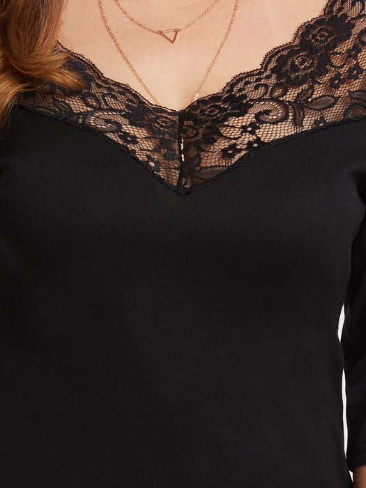 MDG Essential - Melodrama Lace Blouse