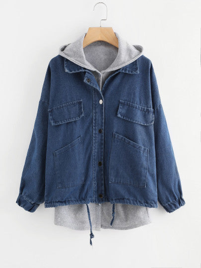 MDG Essential - Layered Denim Jacket