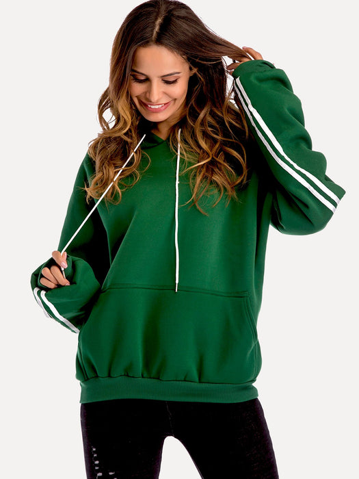 MDG Essential - Emerald Stripe Sweatshirt