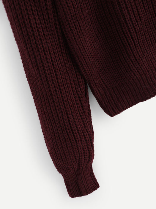 MDG Essential - Maroon Dreams Sweater