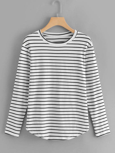 MDG Essential - Striped Scholar Sweater