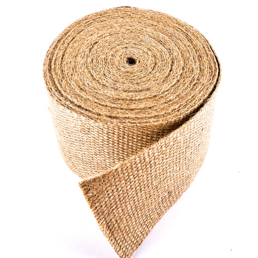 "Upholstery/Craft Jute Webbing (Burlap), 3.25"" X 72 Yards - Natural"