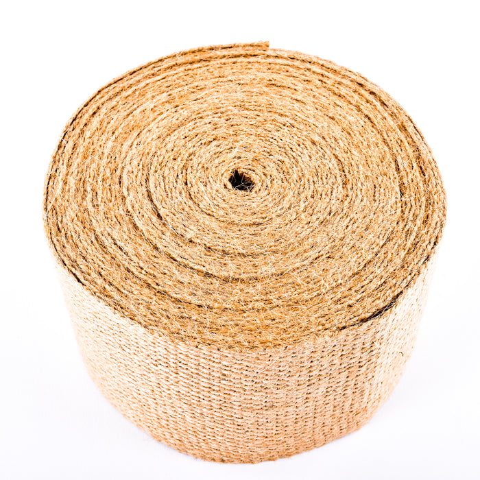 "Upholstery/Craft Jute Webbing (Burlap), 3.25"" X 36 Yards - Natural"