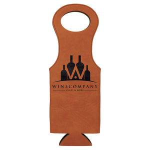 Rawhide Laserable Leatherette Wine Bag