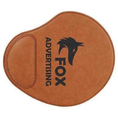 Rawhide Laserable Leatherette Mouse Pad