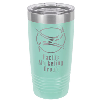 20oz. Polar Camel Teal Ringneck Vacuum Insulated Tumbler