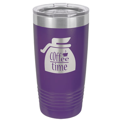 20oz. Polar Camel Purple Ringneck Vacuum Insulated Tumbler