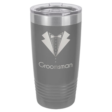 20oz. Polar Camel Dark Gray Ringneck Vacuum Insulated Tumbler