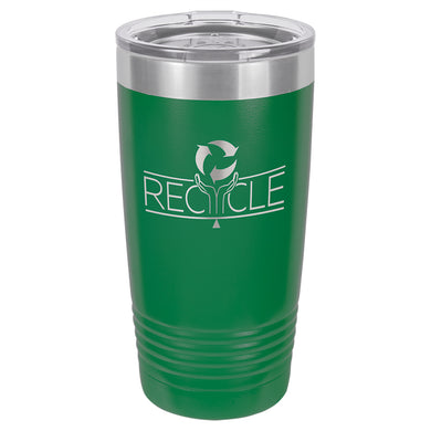 20oz. Polar Camel Green Ringneck Vacuum Insulated Tumbler