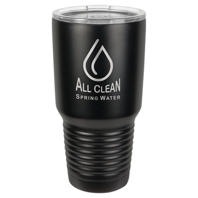 30 oz. Polar Camel Black Ringneck Vacuum Insulated Tumbler