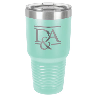 30 oz. Polar Camel Teal Ringneck Vacuum Insulated Tumbler