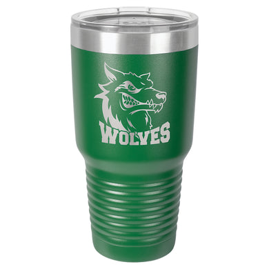 30 oz. Polar Camel Green Ringneck Vacuum Insulated Tumbler