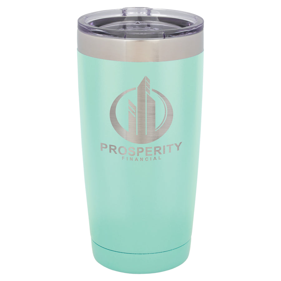 20oz. Polar Camel Teal Vacuum Insulated Tumbler