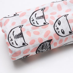 Extra Large Kitty Cotton Muslin