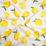Four Layer Lemon Bamboo Blanket