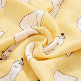 2 Pack Extra Large Animal Bamboo Muslins