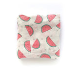 Extra Large Pink Watermelon Bamboo Muslin