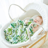 Extra Large Jungle Bamboo Muslin