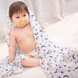 Extra Large Celestial Bamboo Muslin