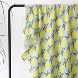 Organic Extra Large Lemon Cotton Muslin