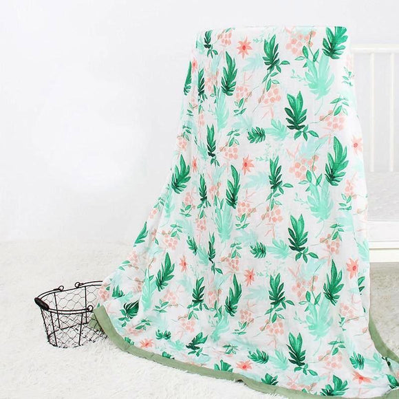 Four Layer Tropical Bamboo Blanket